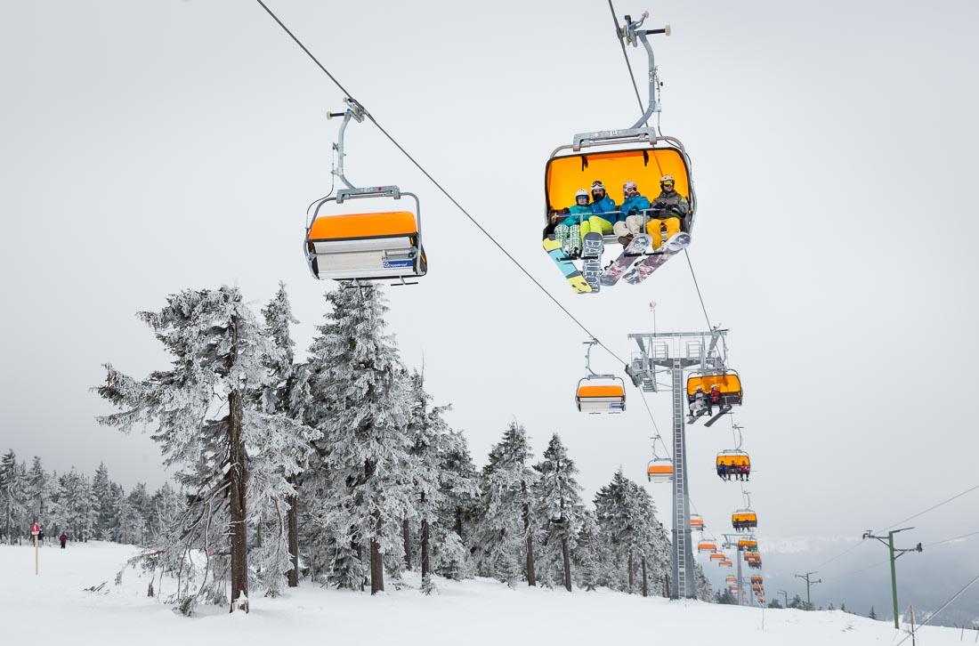 Skiën in het 'Klein Siberië' van Tsjechië